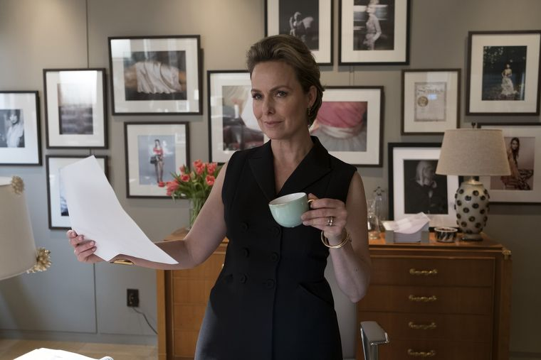 MELORA HARDIN as the empowering mentor in Freeform's The Bold Type